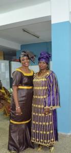Mujeres africanas de Nou Moles