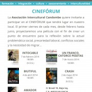 Cartel Cineforum Candombe