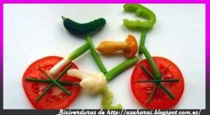 bici verduras